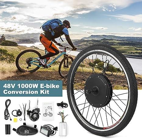 Festnight Kit de conversión de Bicicleta eléctrica Kit Motor de ...