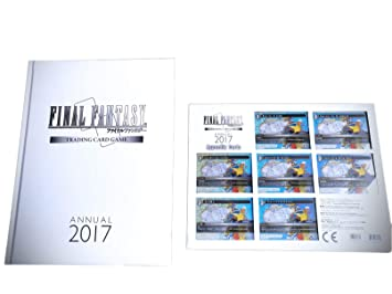 Final Fantasy TCG Trading Card Game limited Annual 2017 Book english//japanese