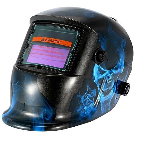 KKmoon PP profesional casco de soldadura Solar Auto oscurecimiento soldador máscara saludable Segura Equipo de protección