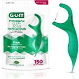 GUM Professional Clean Flossers, Mint Flavored #893, 150 Count