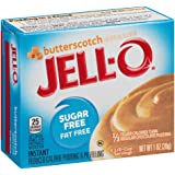 Jell-O Sugar-Free Butterscotch Instant Pudding Mix 1 Ounce Box (Pack of 6)