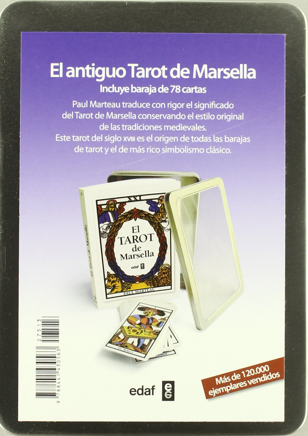 El tarot de Marsella: Agapea: 9788441430563: Amazon.com: Books