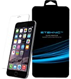 eTEKNIC iPhone 6 / iPhone 6s Screen Protector - Tempered Glass For Apple iPhone 6 / 6s Super Hard 9H Anti Scratch Anti Shatter - Easy To Clean Oleophobic Coating - Reduced Fingerprints