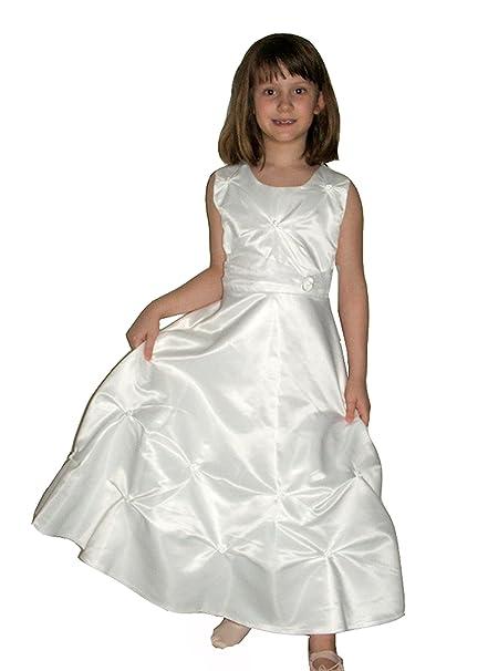 a2c3914db Helas Modewelt - Vestido - Sin mangas - para niña blanco 12 años ...