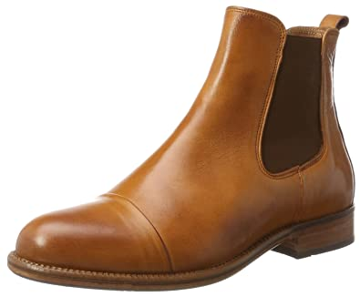 c309c9ab6b15eb TEN POINTS Damen Diana Chelsea Boots Braun (Cognac) 38 EU  Amazon.de ...