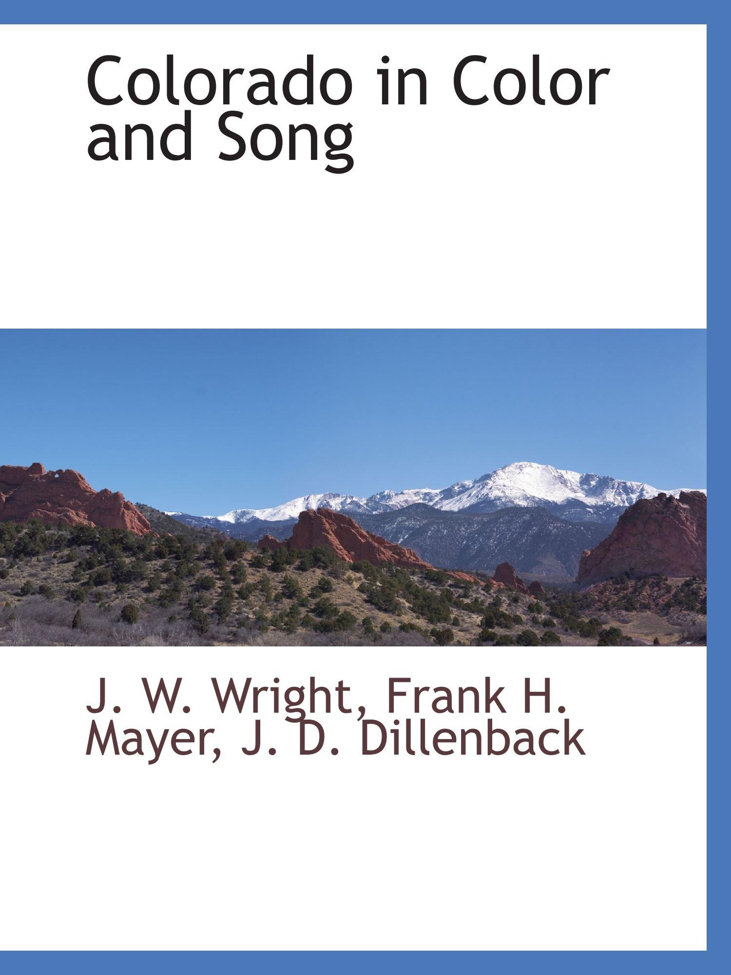Download Colorado in Color and Song pdf epub