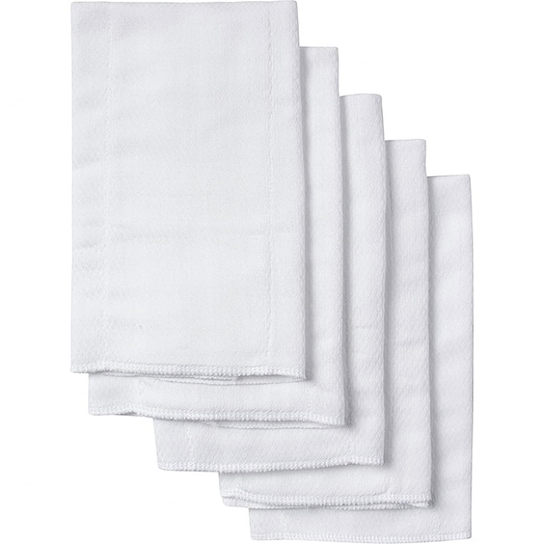 Gerber Organic Birdseye Prefold Cloth Diaper, 5 Count 5 Count 58182516A101STD