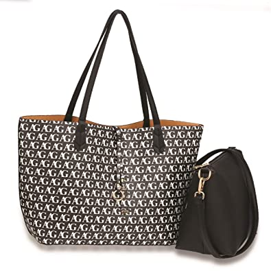 LeahWard Women s 2 IN 1 Shoulder Bag With Clutch Bag Designer Shopper Bags  Handbag For School 5957b5f076b5a