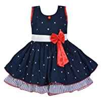 Wish Karo Girl's Cotton Frock Dress