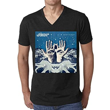 Golden dosa The Chemical Brothers We Are The Night Men T-Shirt V Neck 850789ac9