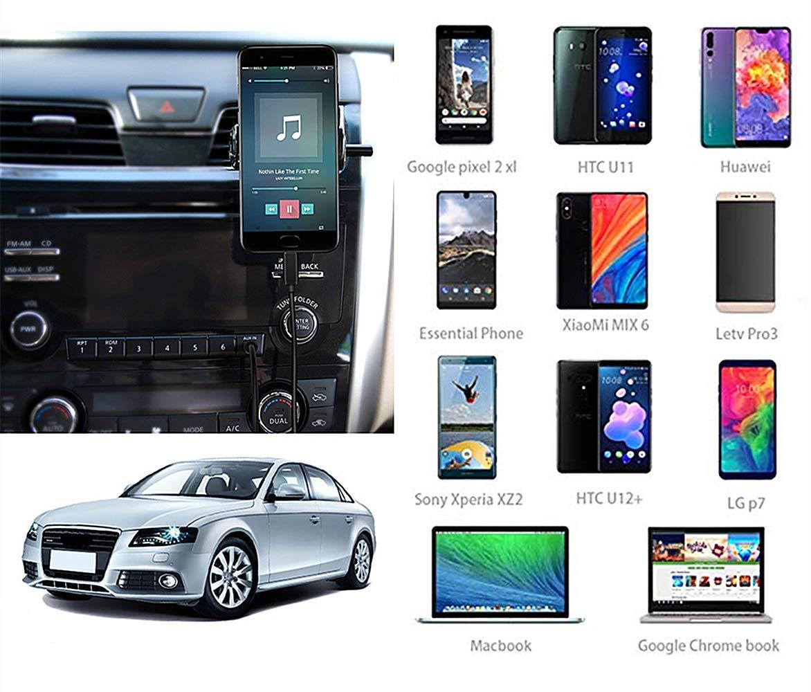 Auto MMI Typ C Digital Audio Music Interface Schnelles Ladekabel AMI auf USB C AUX Ladeadapter f/ür Audi kompatibel mit Google Pixel 2 XL HTC U11//U12+ Samsung S9//S8//Note 8 LG V30 G6 1 m