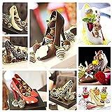 High Heel Shoe Mold, 3D Magnetic Platform Heels
