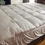 Amazon Com Karrism Extra Thick Mattress Topper King