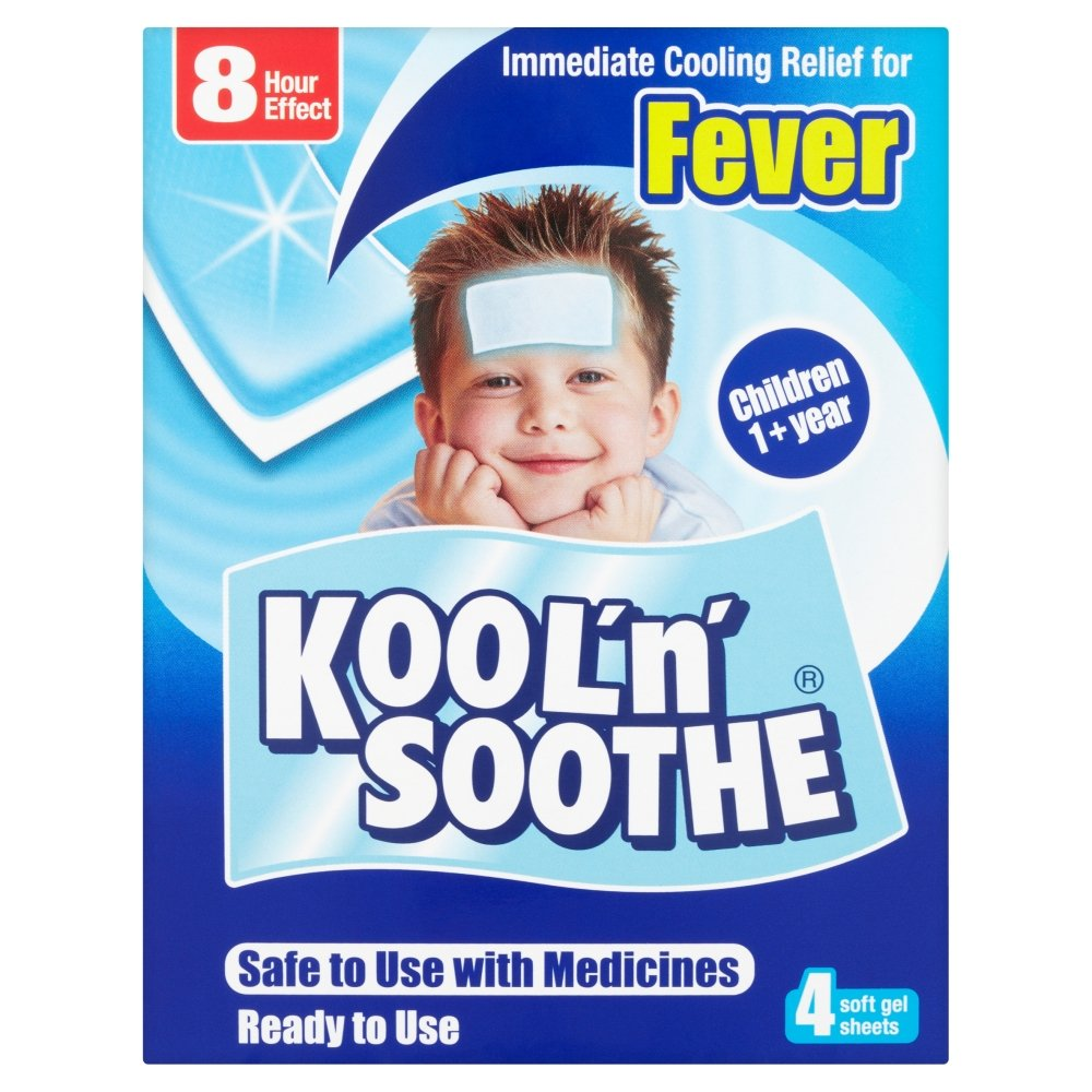 Kool 'n' Soothe Cooling Strip Sachets Kids Multipack 4