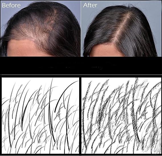 Fibras de cabello Fully 23 g, prémium deluxe, para aumentar la densidad de pelo, varios colores, para la caída del cabello: Amazon.es: Salud y cuidado ...