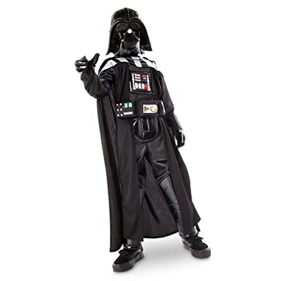 Star Wars Darth Vader Costume with Sound for Kids Size 4 Black: Clothing