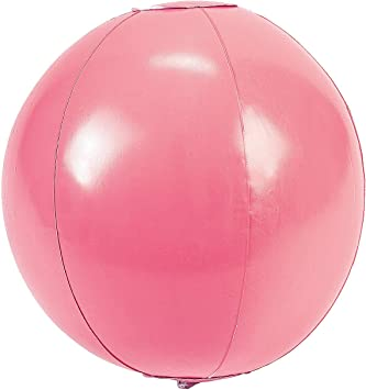 Amazon.com: Hinchable Rosa pelotas de playa – Verano y ...