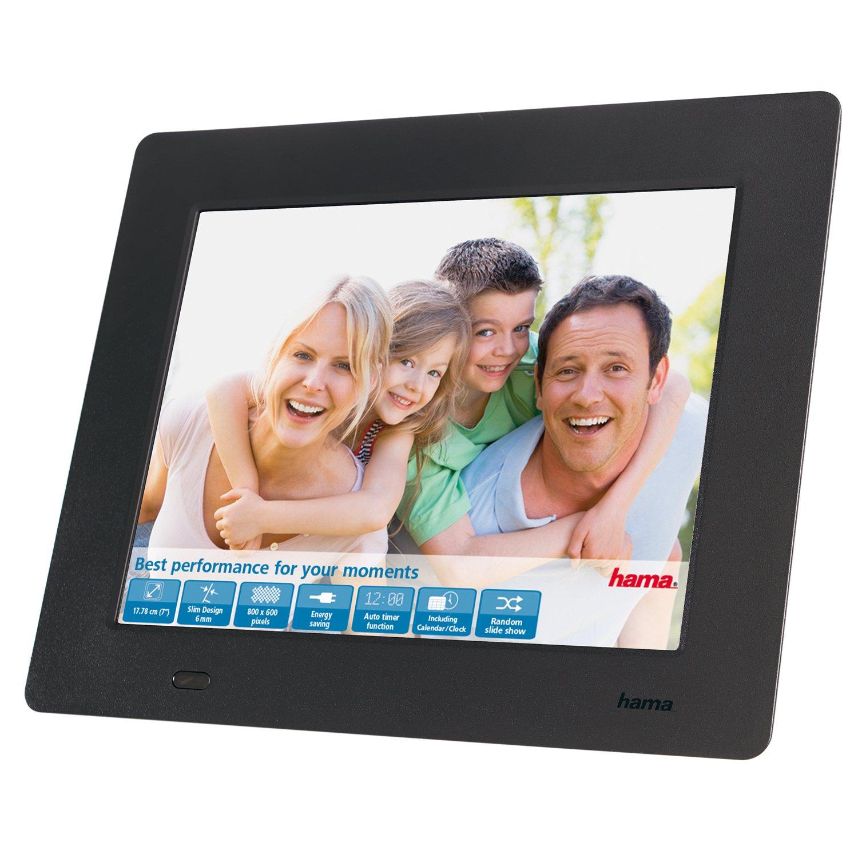 Hama Digitaler Bilderrahmen Slimline Basic 7 Zoll: Amazon.de: Kamera