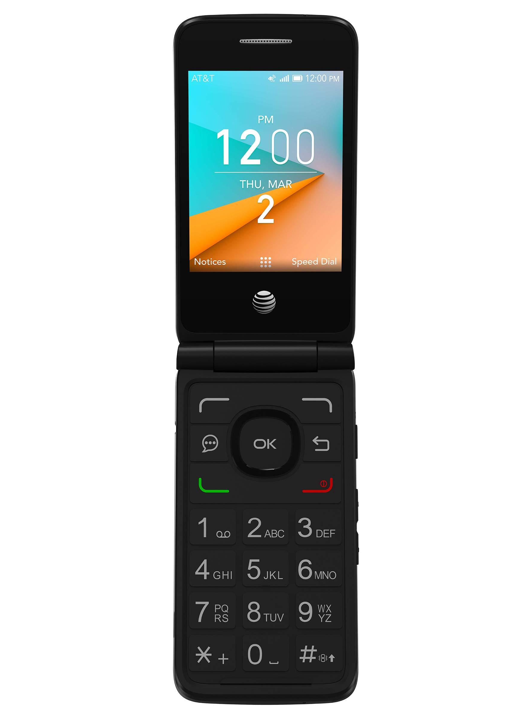 AT&T PREPAID Cingular Flip 2 Prepaid Feature Phone - Dark Gray by AT&T PREPAID