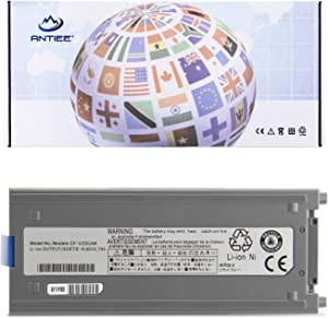 ANTIEE New CF-VZSU48U Laptop Battery for Panasonic Toughbook CF19 CF-19 MK1/2/3/4/5/6/7/8 Series Notebook CF-VZSU28 CF-VZSU48 CF-VZSU48U CF-VZSU48R CF-VZSU50 CF-VZSU58U 6Cell 10.65V 58Wh 5700mAh