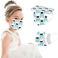 YpingLonk 10/50 Uds niños niños Gato Estampado Lindo Bufanda-Moda Universal elástico Orejeras Suave Chal para niños…
