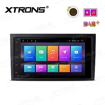 XTRONS 9 Auto Touchscreen Autoradio Auto Multimedia Player mit Android 8.1 Octa Core unters/ützt 4K Video WiFi 4G Bluetooth 2GB RAM 32GB ROM DAB OBD2 TPMS F/ÜR Ford Focus MK3 2012-2017