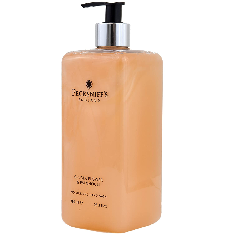 Pecksniffs Hand Wash Ginger Flower & Patchouli Moisturizer 25.3 Fl Oz (Ginger)