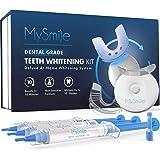 MySmile Teeth Whitening Kit with LED Light, 10 Min Non-Sensitive Fast Teeth Whitener with 3 Carbamide Peroxide Teeth Whitenin