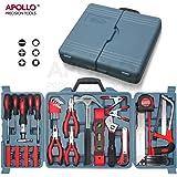 Apollo Precision Tools Kit de 71 outils ménagers dans une boîte de rangement