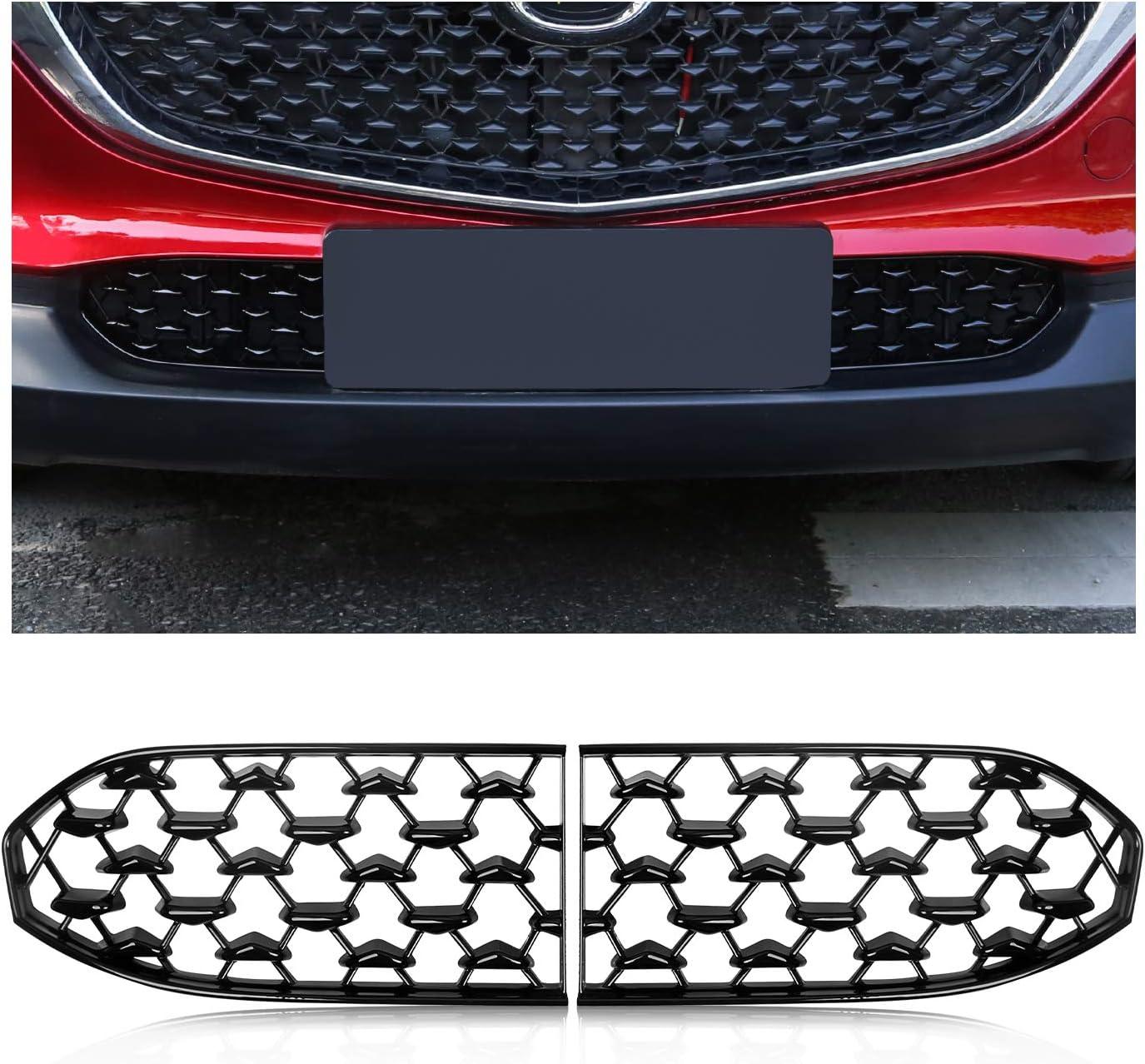 2 Stück Cdefg Für Cx30 Cx 30 Front Kühlergrille Frills Frontstoßstangenmaske Auto Grill Modifiziertes Zubehör Auto