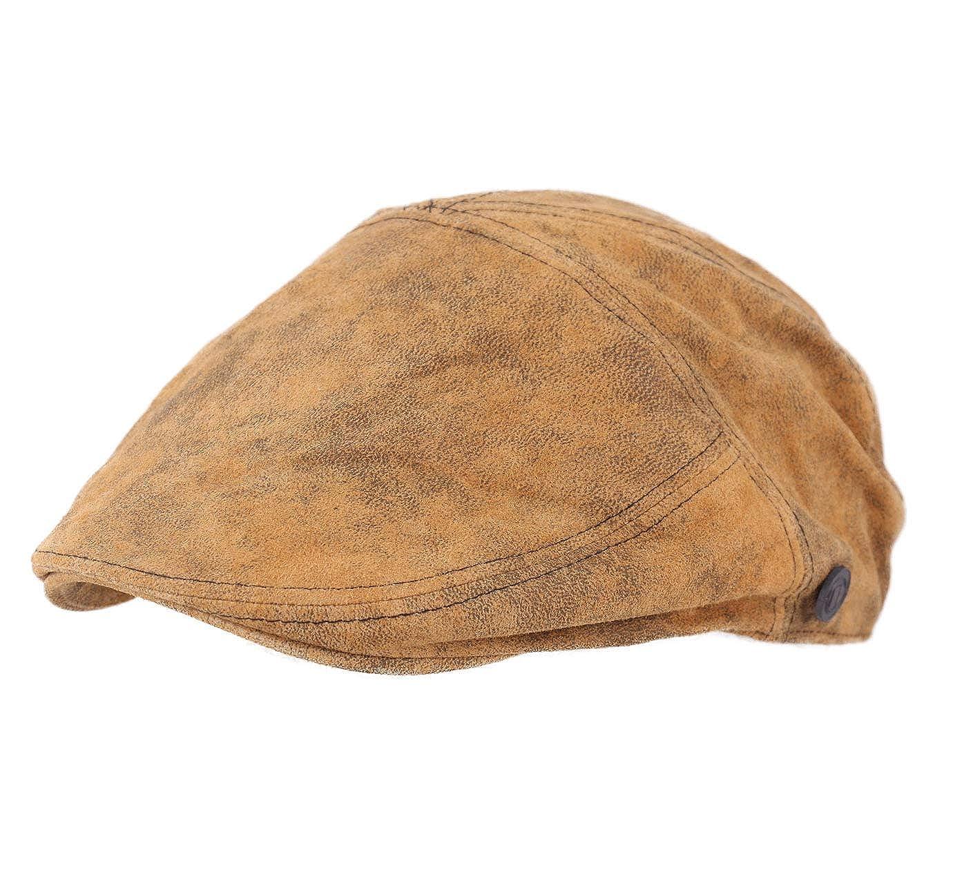 Dasmarca - Boinas - gorra plana cuero hombre Alex  Amazon.es  Ropa y  accesorios 3dcfe3b3601