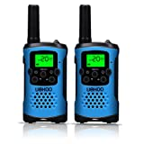 Amazon Price History for:Kids Walkie Talkies, UOKOO 22 Channels and Back-lit LCD Screen (up to 6KM in open areas) Walkie Talkies for Kids (1 Pair) Blue T48