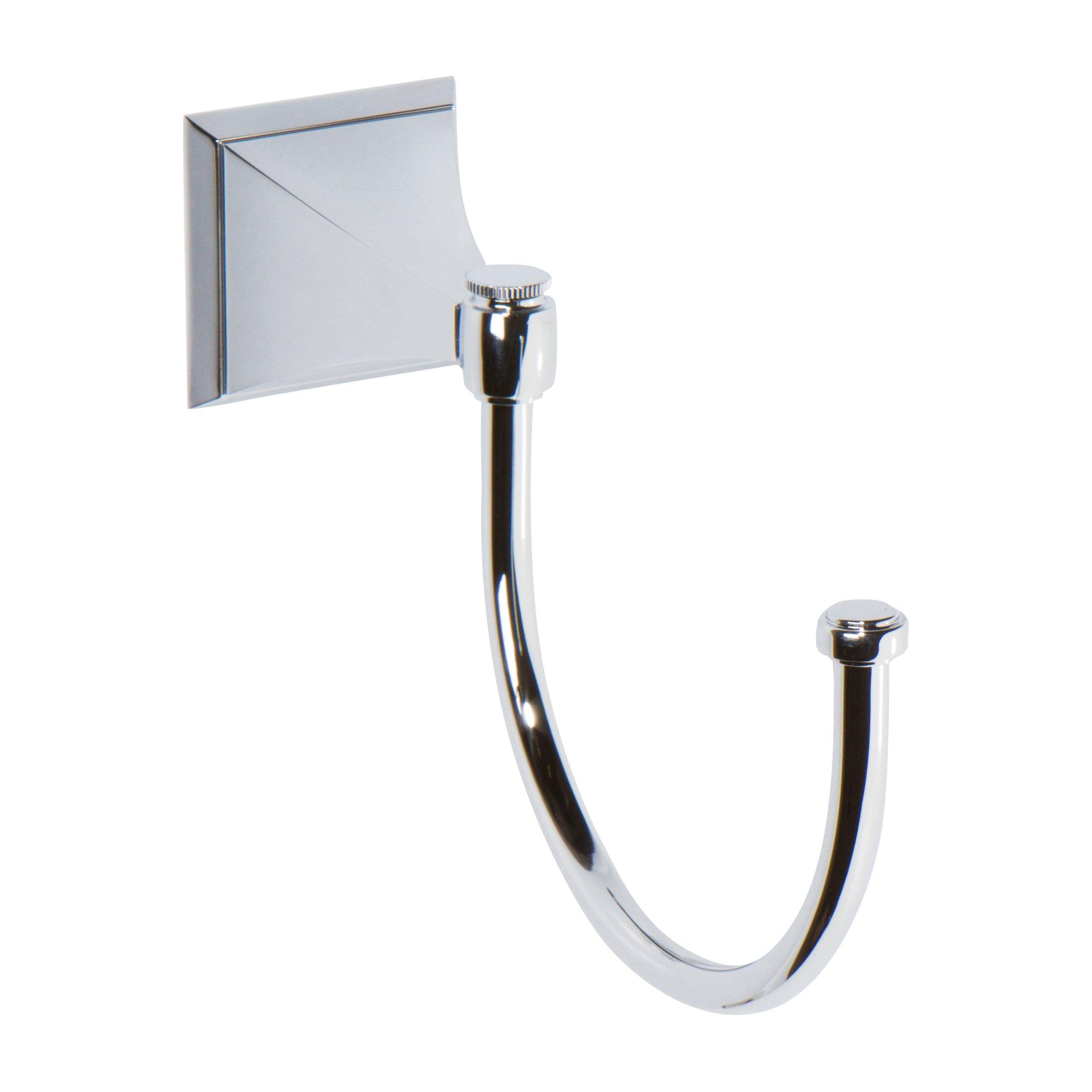 Ginger Cayden Pivoting Towel Hook - 4921/PC - Polished Chrome