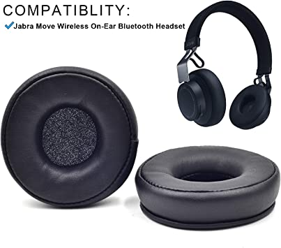 Amazon Com Replacement Ear Pads Cushion For Jabra Move Wireless On Ear Bluetooth Headphones Home Audio Theater
