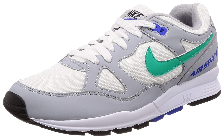 MultiCouleure (Wolf gris Clear Emerald blanc Racer bleu 012) 42 EU Nike Air Span II, Chaussures de Fitness Homme