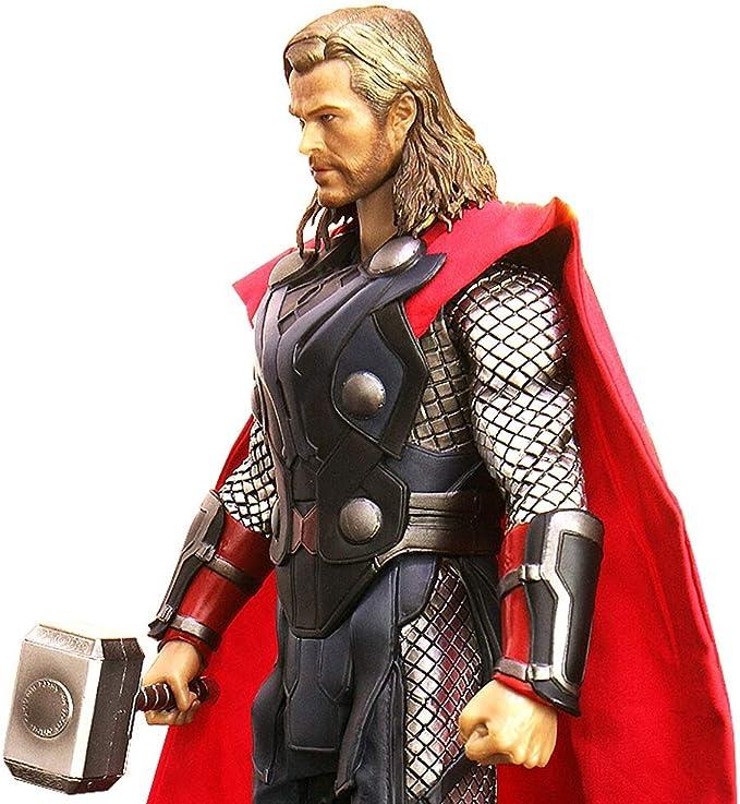 FFLSDR El Martillo de Thor, Modelo Tor, Escritorio, Exquisito, Escultura, Anime, Adorno.: Amazon.es: Hogar