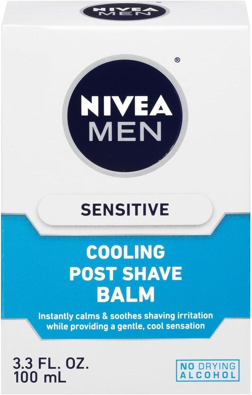 Nivea For Men Sensitive Cooling Post Shave Balm - 3.3 oz