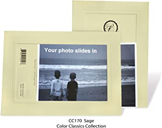 """product image for Photo Note Cards for 4"""" x 6"""" image 10 Pack with Envelopes ColorClassics (Sage)"""