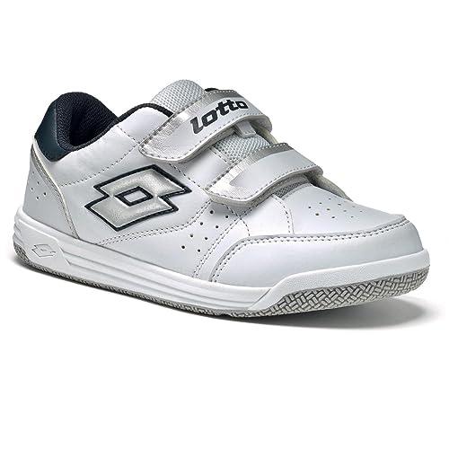 Lotto T-Basic VIII CL S, Zapatillas de Tenis Unisex Infantil: Amazon.es: Zapatos y complementos