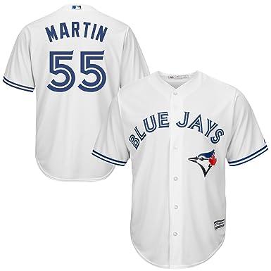 brand new a956e 859f6 Amazon.com: Russell Martin Toronto Blue Jays White Youth ...