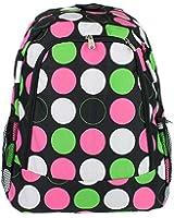 Bp 5016 544 Yh Backpack Large Polka Dot Multi Black - SWT
