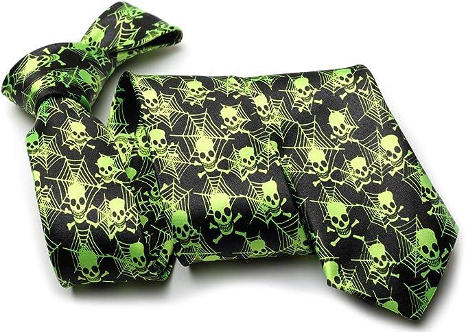 Cravate tête de mort 9