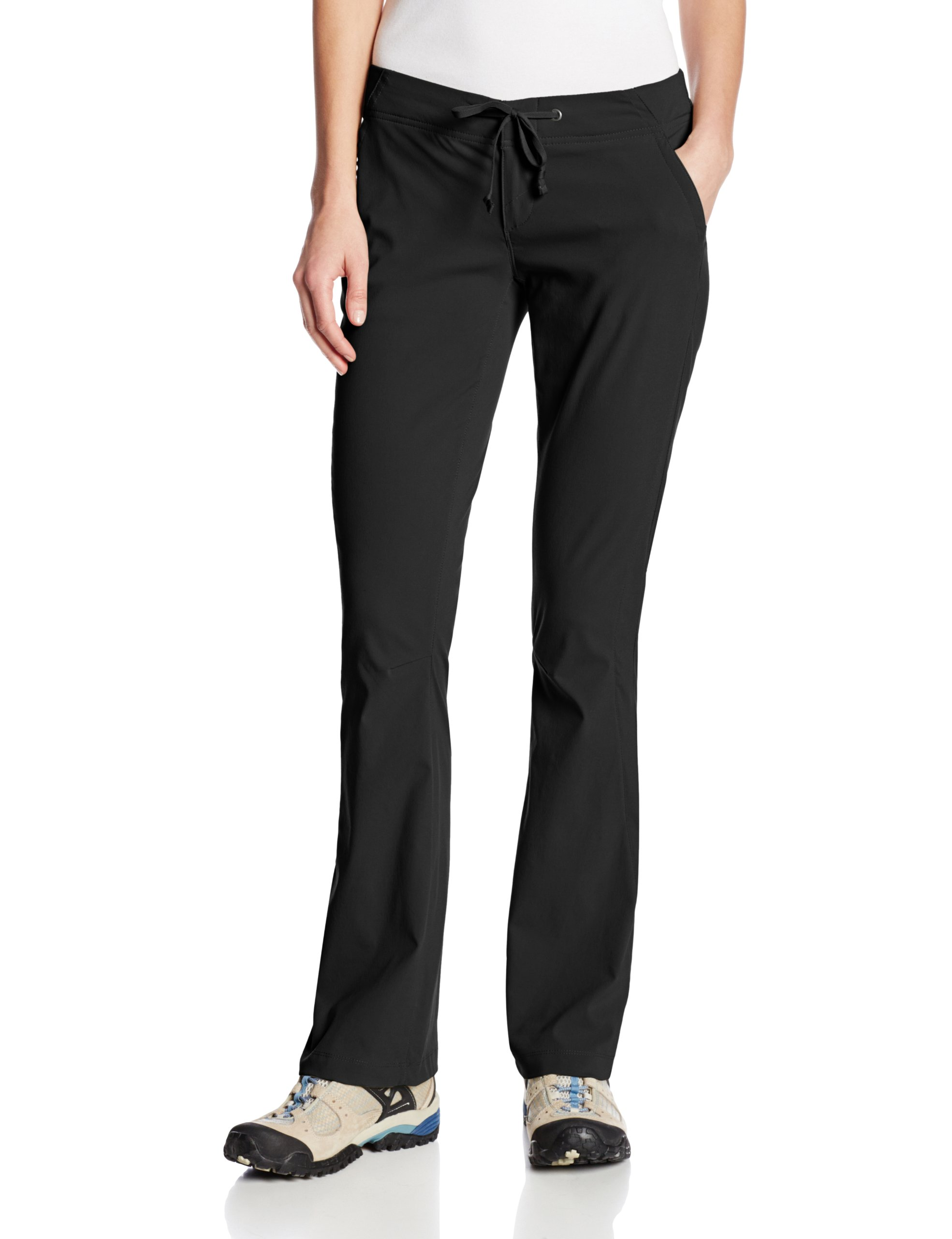 Columbia Women's Anytime Outdoor Boot Cut Pant Pants, black, 8Short