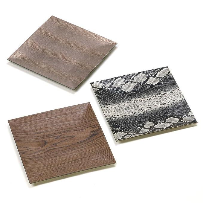 Accent Plus Platos Decorativos para Decoración de Mesa, Diseño ...