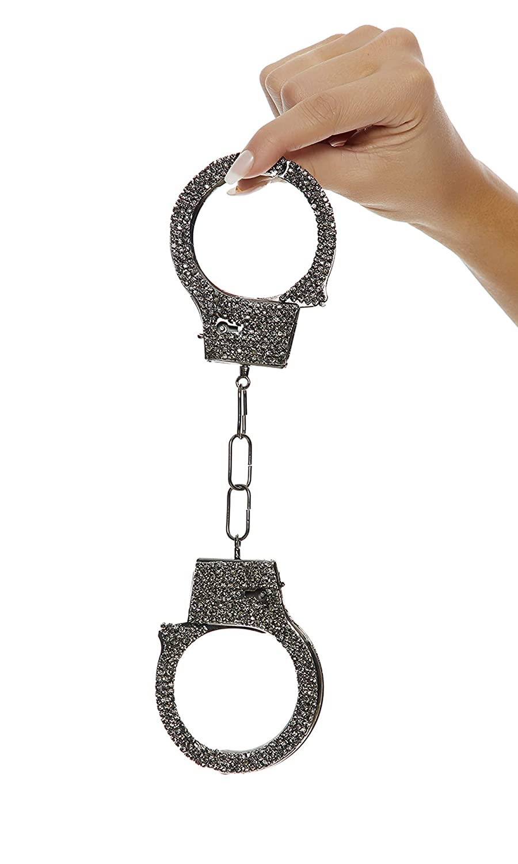 Forplay Rhinestone Handcuffs