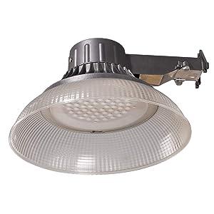 Honeywell 5000 Lumen LED Utility Light - Gray
