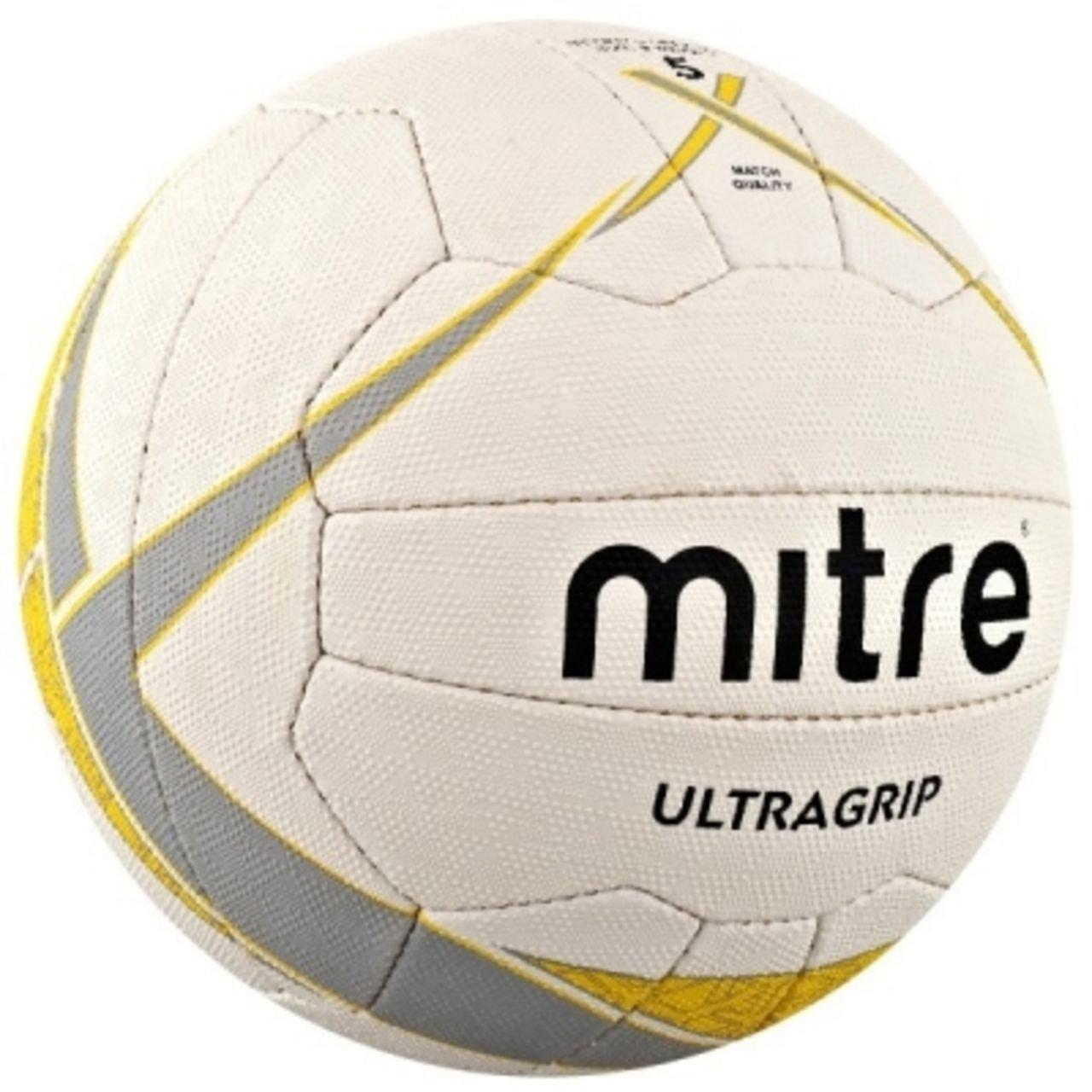 Mitre Ultragripネットボールボール B014YW4TSSSize 5