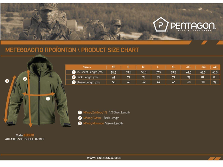Pentagon Softshell Jacket -Artaxes- 05c0cfd4729