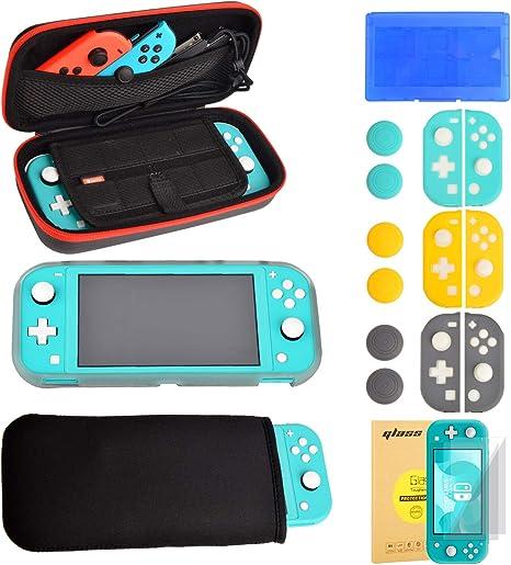 Nintendo Switch Lite Accesorios - Funda Protector de Pantalla ...
