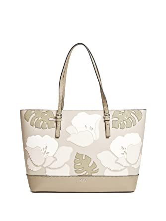 92ef761fe1 Amazon.com  GUESS Factory Women s Chandler Floral Tote  Clothing